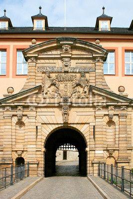 Peter's gate of the stronghold Petersberg in Erfurt