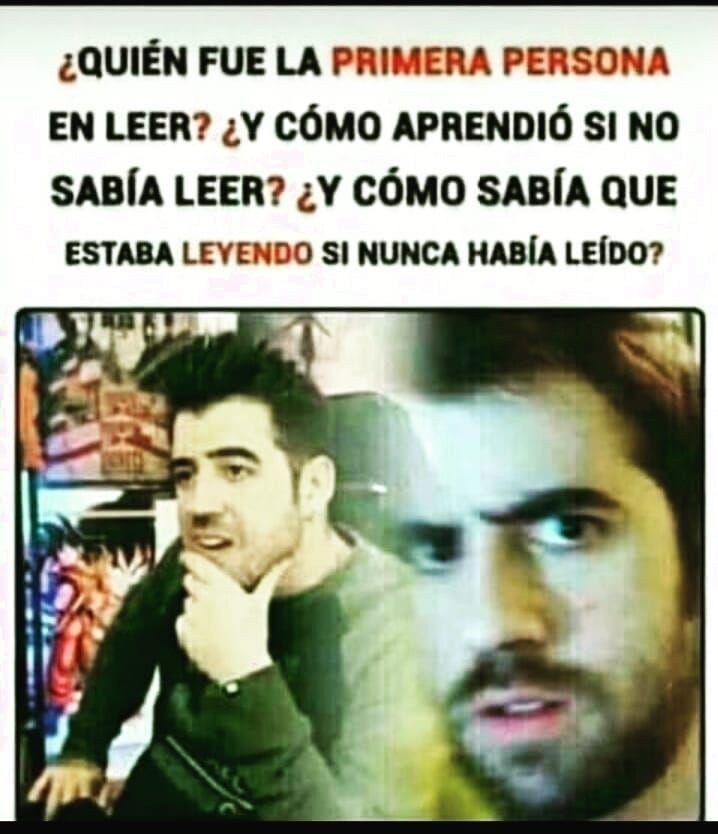 Memes Random De La Semana Quien Fue La Primera Persona En Leer Memes Memesespanol Memesgraciosos Memesen Funny Spanish Memes New Memes Stupid Funny Memes