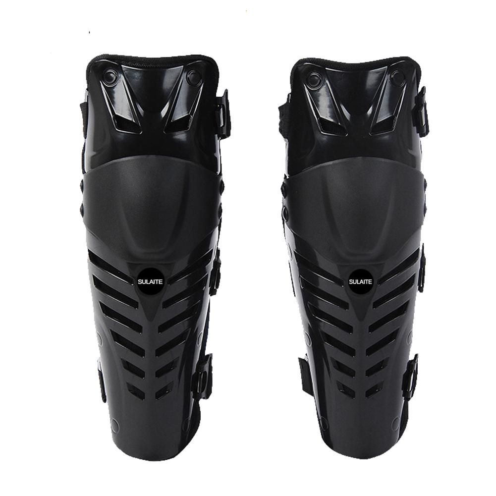 ATV Motocross Dirt Bike Racing Adult Knee Shin Armor Protector Brace Guard Pad