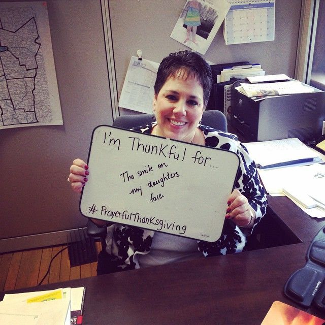 Andrea Marshall, Assistant Director of Development for the #syracusediocese, is #thankful for one of life's little pleasures as she prepares for #PrayerfulThanksgiving