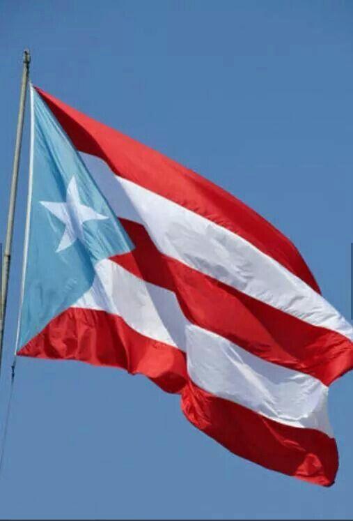 Bandera de Puerto Rico.