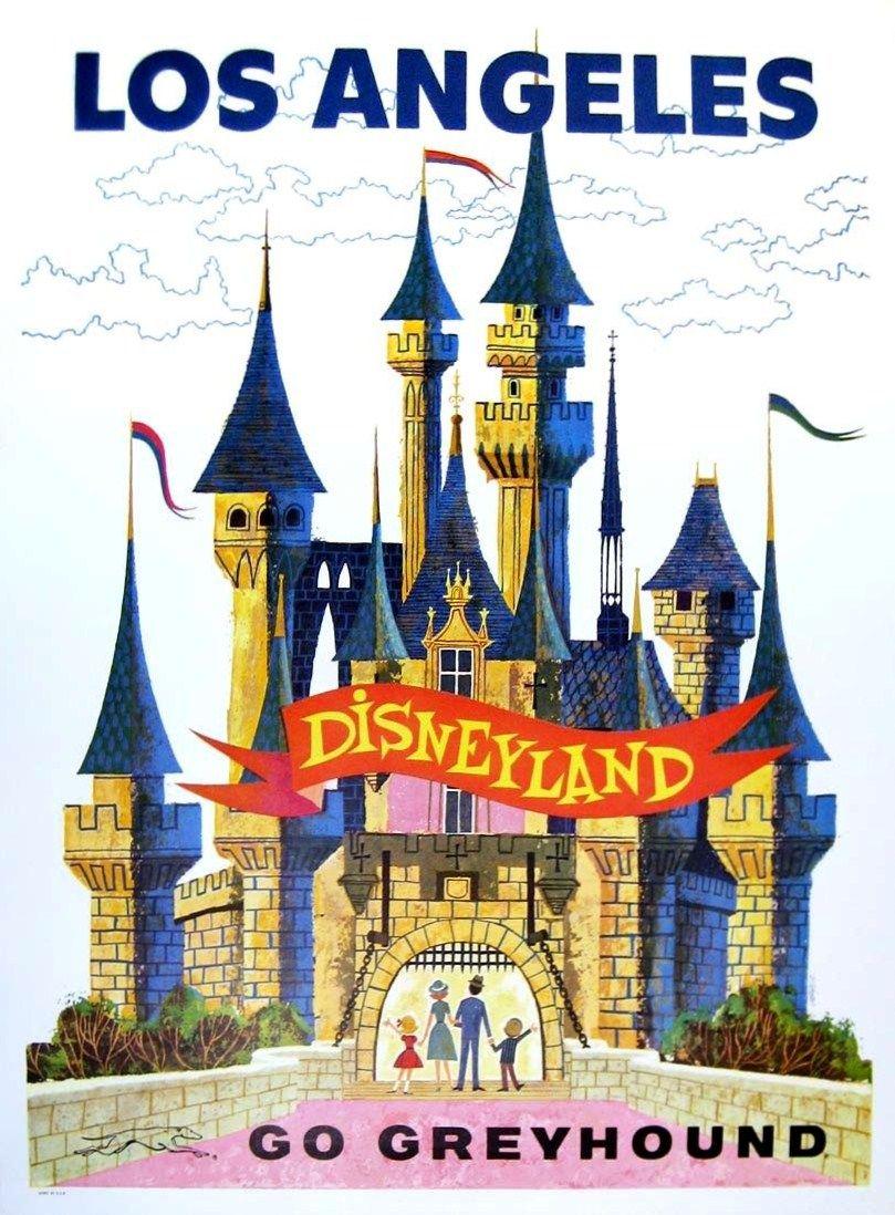 Vintage Disneyland Dangler Stich Rare