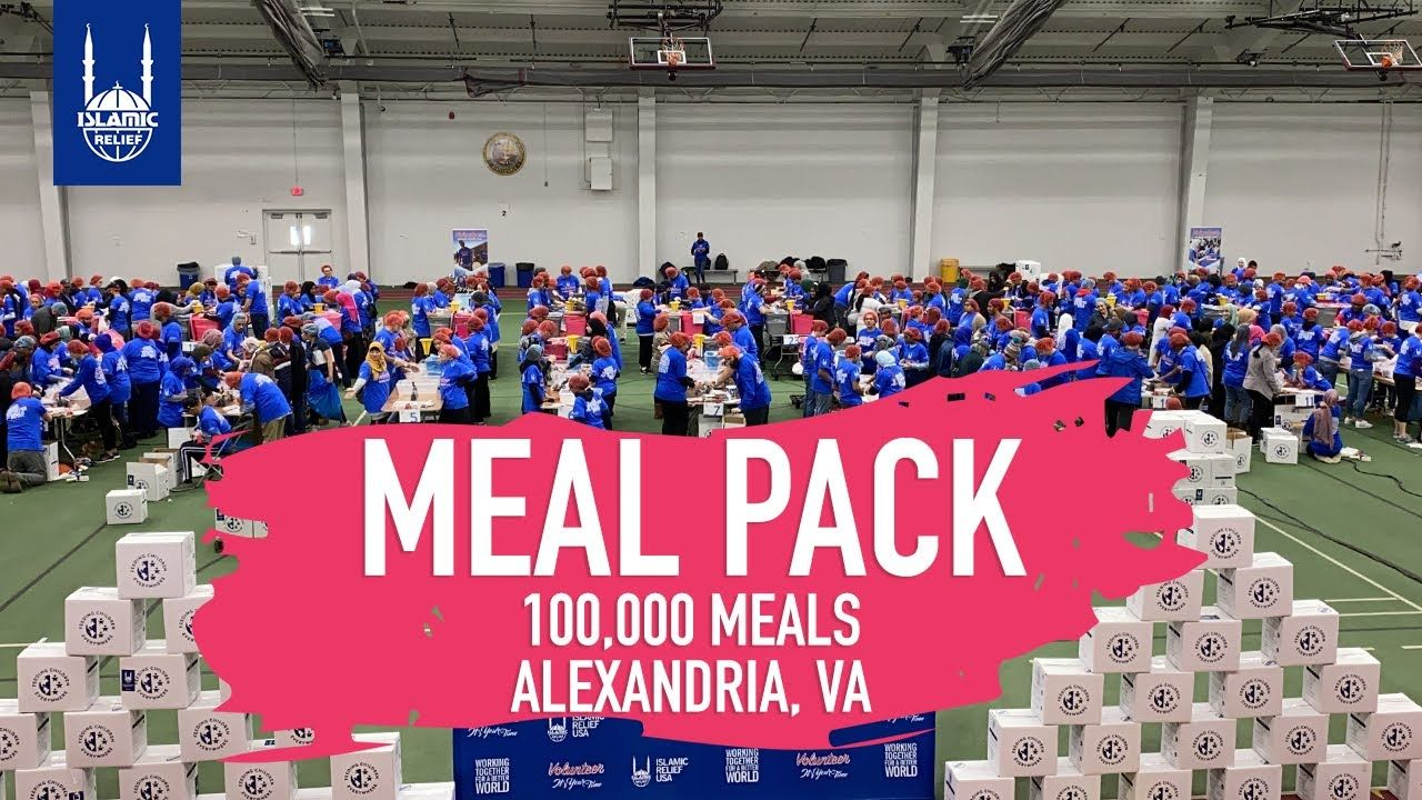 100000 Meals on MLK Day Islamic Relief USA (2020