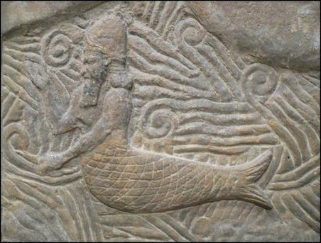 Sumerian Gods Anunnaki Hybrids Fish DNA Genetic Material