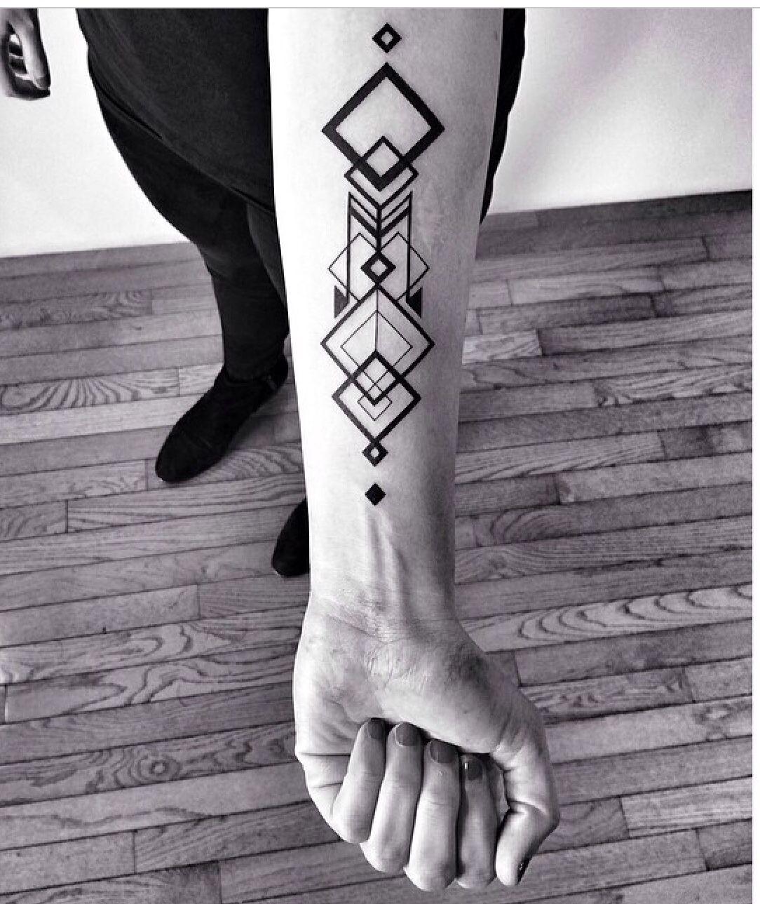Tatoo Benvolt Tattoo Tatuaje Geométrico Diseño De Tatuaje