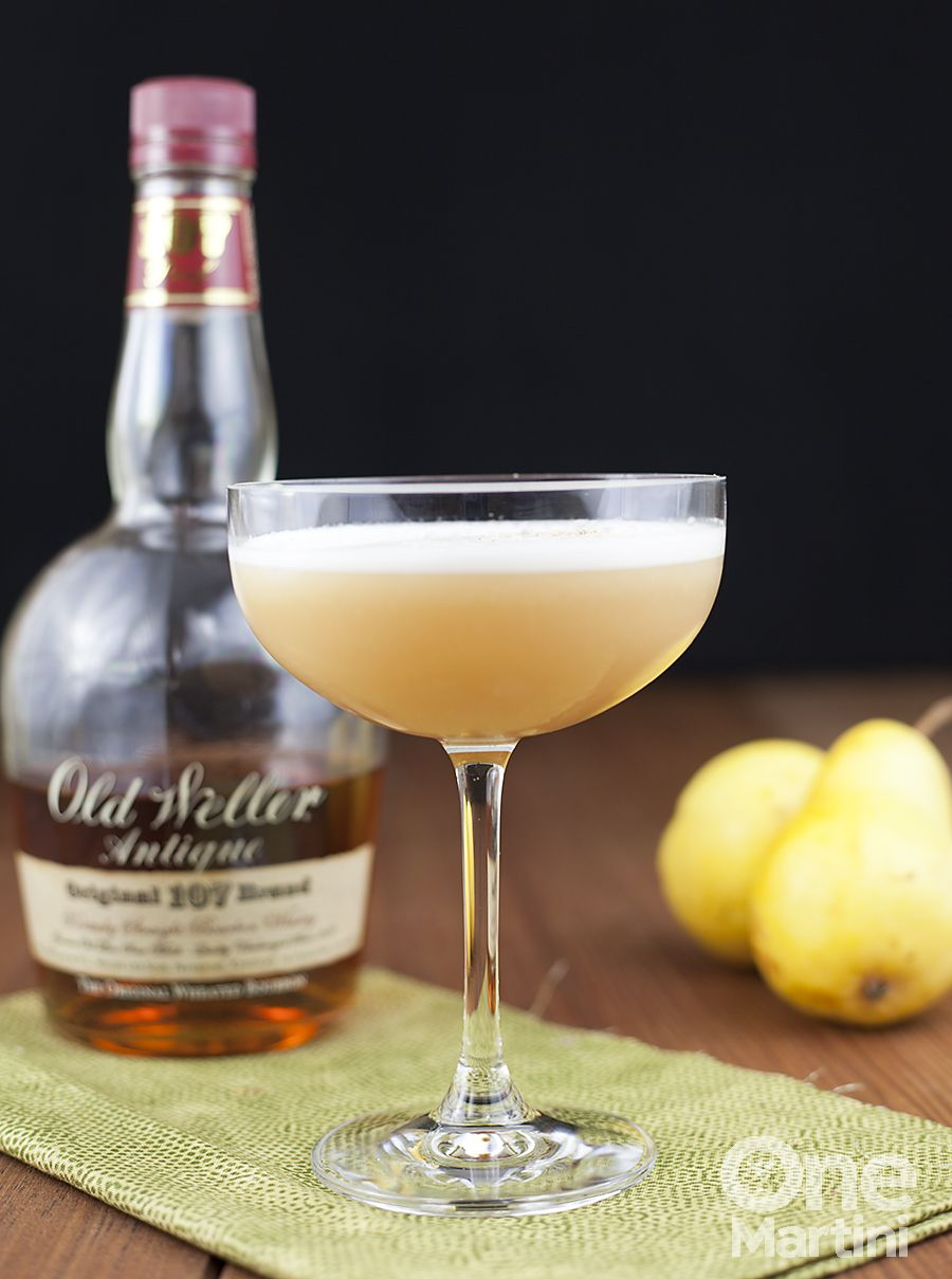 Pear bourbon cocktail with ginger honey syrup mixology pinterest pear bourbon cocktail with ginger honey syrup izmirmasajfo