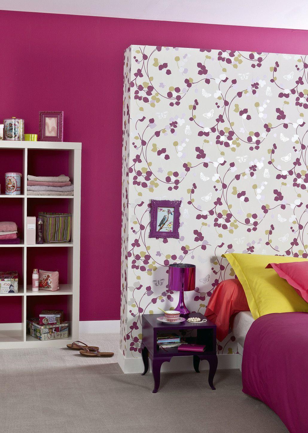 8 id es d co avec le papier peint id e d co 2 et si dans votre chambre le papier peint devenait. Black Bedroom Furniture Sets. Home Design Ideas