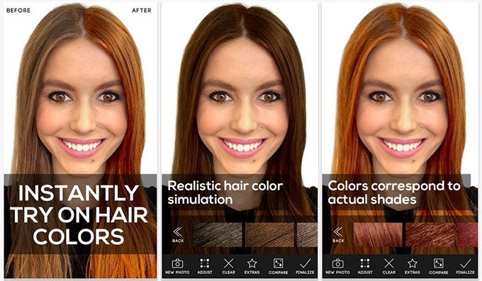 3 Fun Apps To Experiment With Your Hair Colour Hair Romance Hair Colour App Change Hair Color Change Hair
