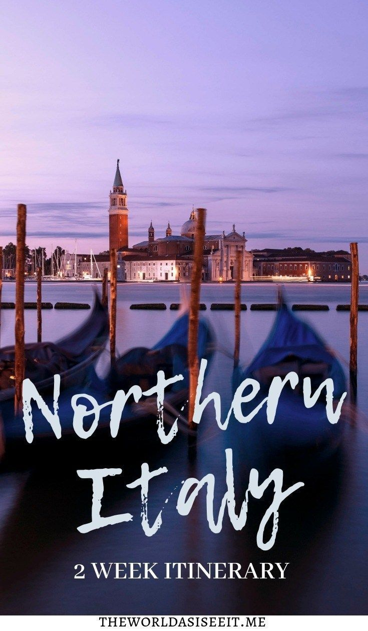 Photo of 2 Weeks in Northern Italy Itinerary ⋆ The World As I See It