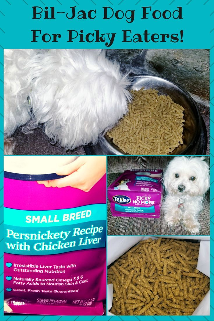 Bil Jac Picky No More Dog Food For Picky Eaters Available For