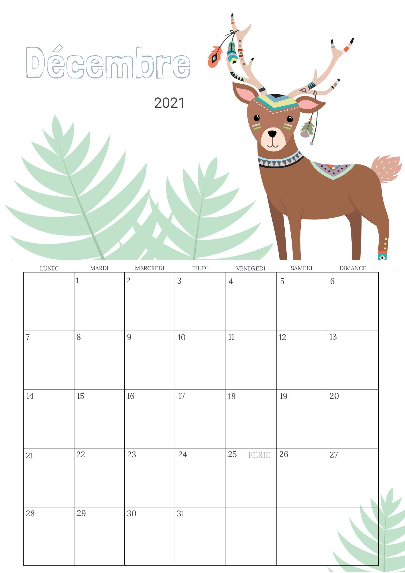 Calendrier 2022 Enfants Children's Calendar 2021 2022   Monthly Wall Calendar   PDF