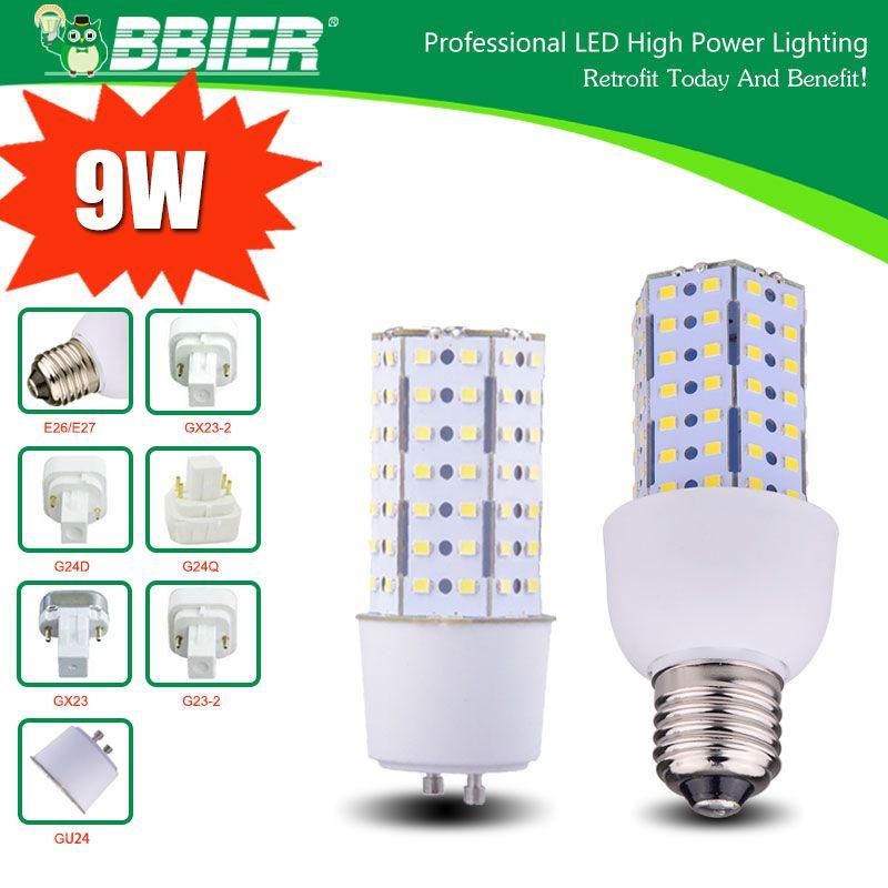 9 Watt G23 2 Led Corn Bulbs Street Lamp Led