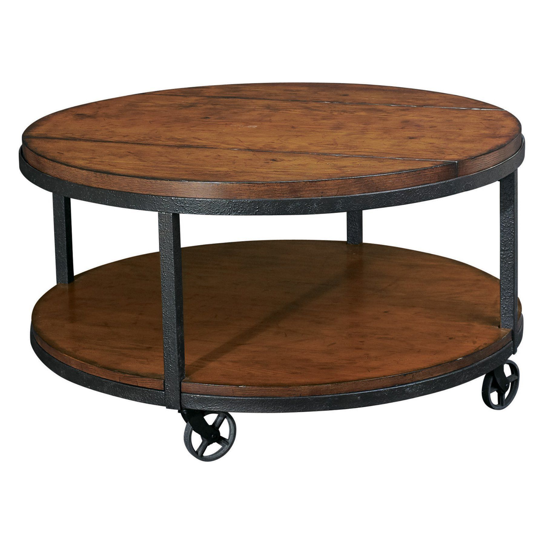 Round Coffee Table With Chairs.Hammary Baja Round Coffee Table T2075205 00 Products In 2019
