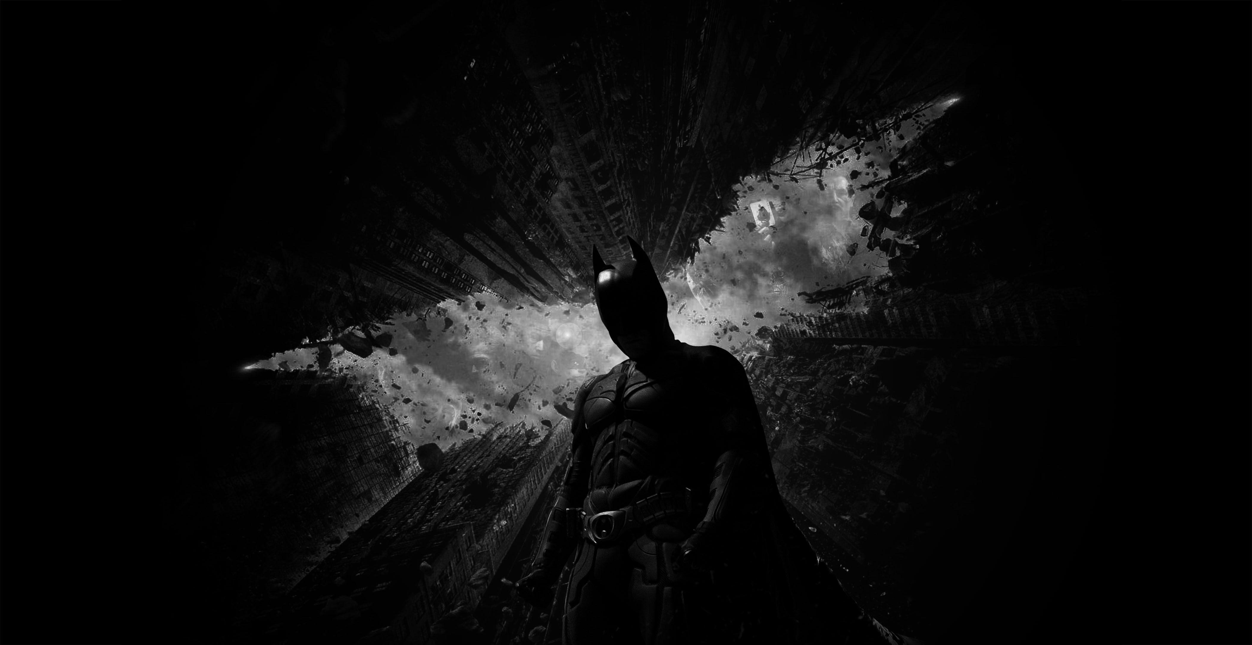 Batman The Dark Knight Wallpaper For Iphone Desktop Background 4208x2170 Px 36163 KB
