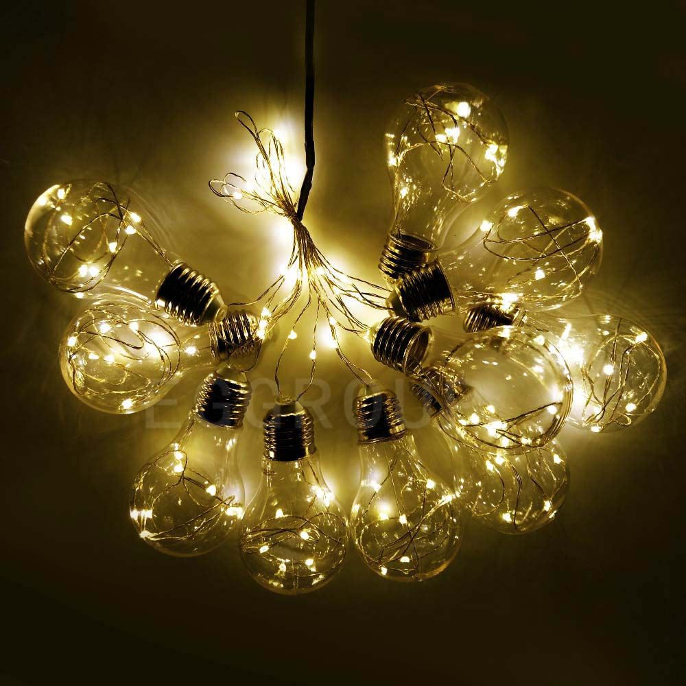 Cheap String Lights Delectable Warm White Christmas Wedding Xmas Party Decor Outdoor Fairy String