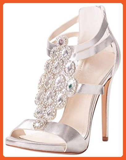 ebf5e2a9244e5 Crystal-Embellished Strappy Heels Style BANGIE54, Silver Metallic ...