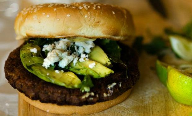 A Veggie Burger Hearty Enough to Please Any Kind of Crowd!