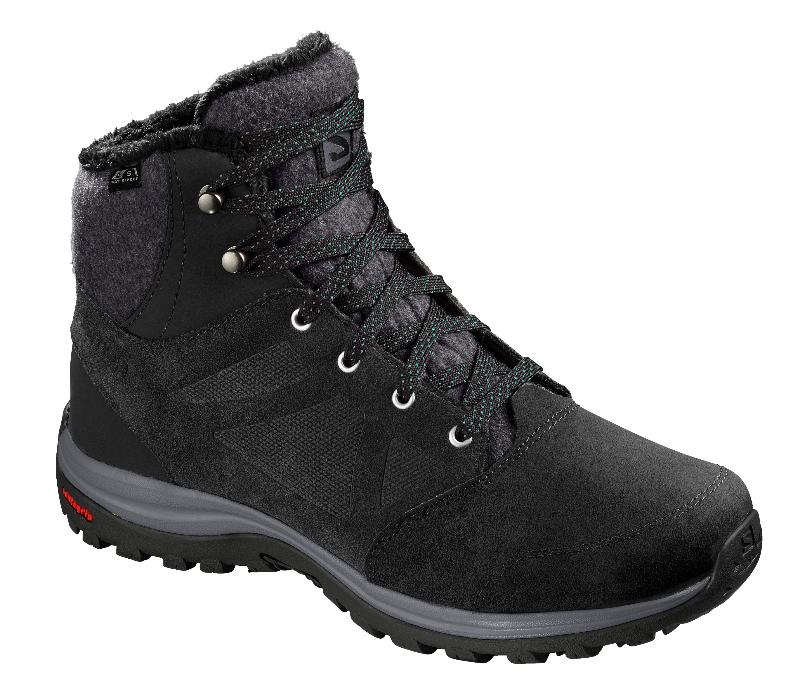 Buty Salomon Ellipse Freeze Cs Wp Black Sport2002 Salomon Fischer Atomic Head Buty Narciarskie In 2020 Black Boots Hiking Boots