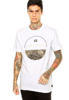2d9f0707c8e40 Camiseta Hang Loose Military Branca   Pinterest
