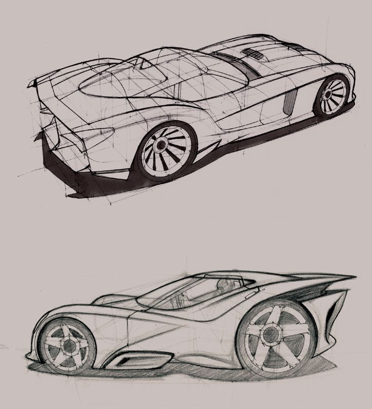 Car Perspective Drawing | Arts, Crafts & DIY | Pinterest ...