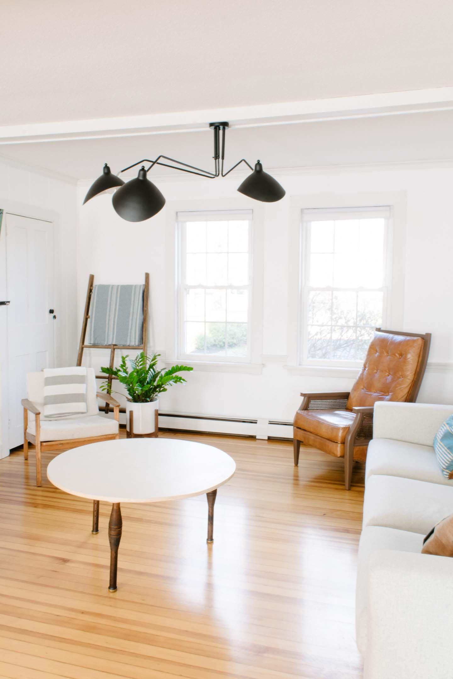 Progress Reveal: Our Cali Casual Living Room | Modern ... on Fireplace Casual Living id=63781