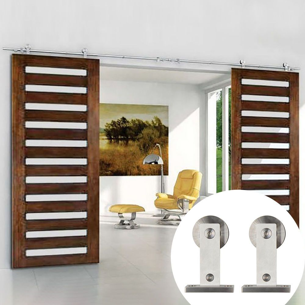 Details About American Stainless Steel 304 Sliding Barn Door