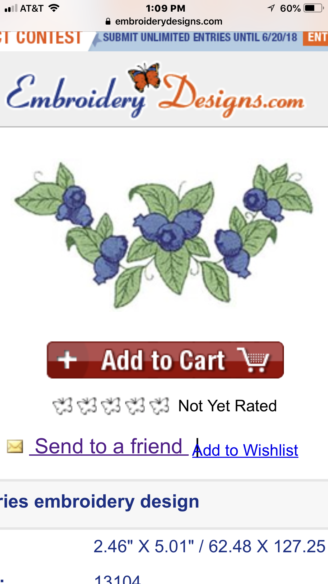 Blueberry frame embroidery wreaths and frames pinterest