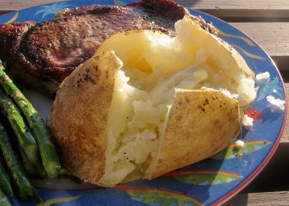 Quick Baked Potato Recipe Quick Baked Potato Quick
