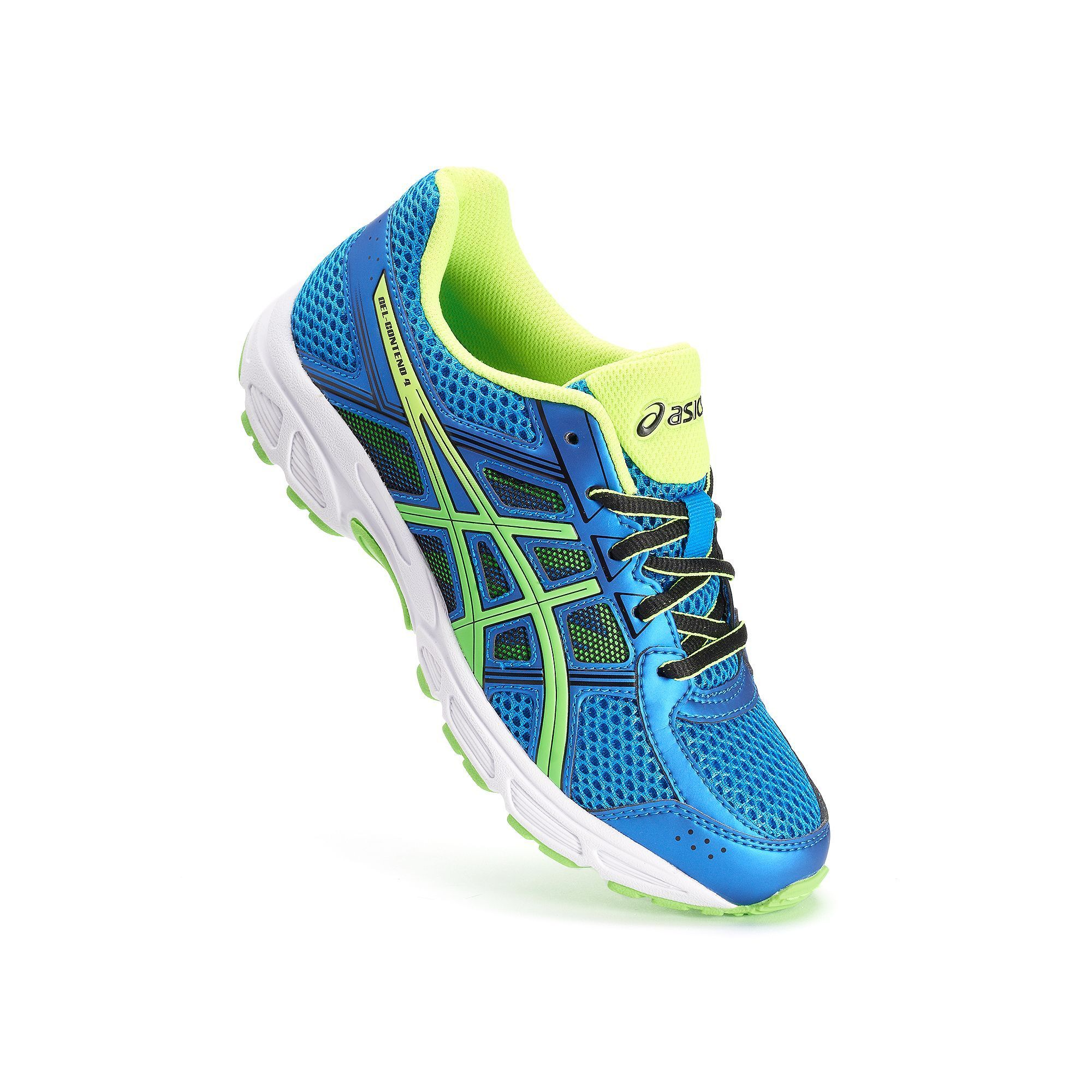ASICS GEL-Contend 4 Grade School Boys' Running Shoes, Size: 7 Wide, Grey  Other