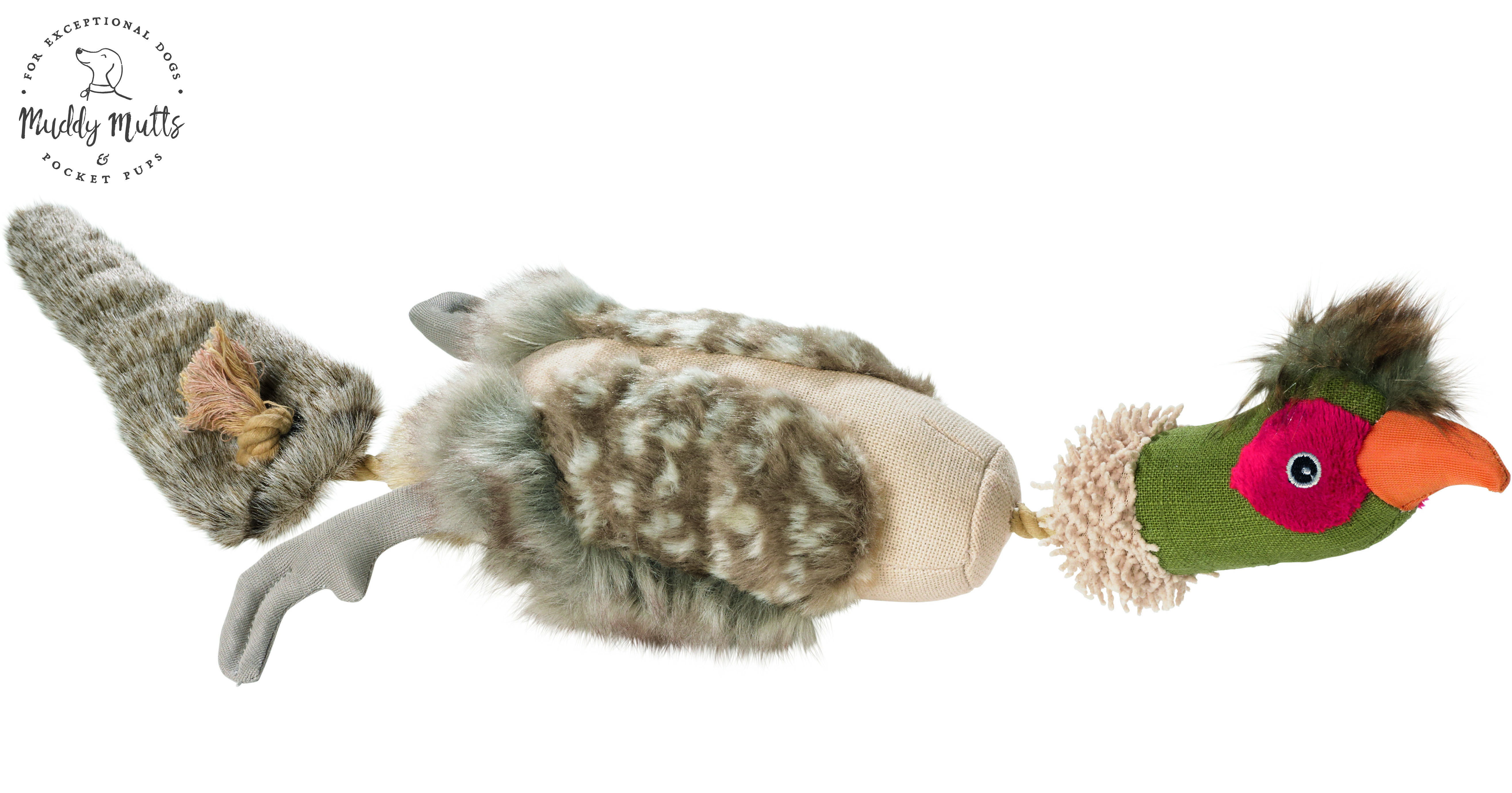 Rope Bird Pheasant Best dog toys, Dog christmas