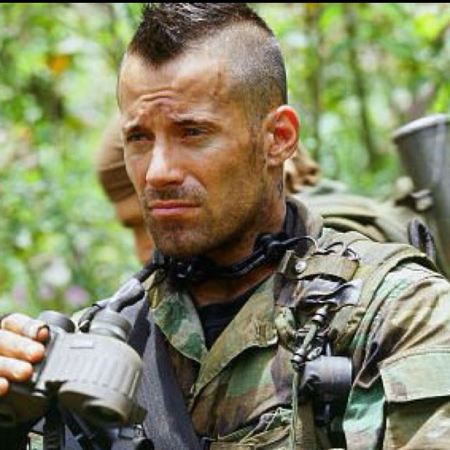 Johnny Messner's mohawk in Tears of the Sun. One of the best I've ever seen  I'd say.