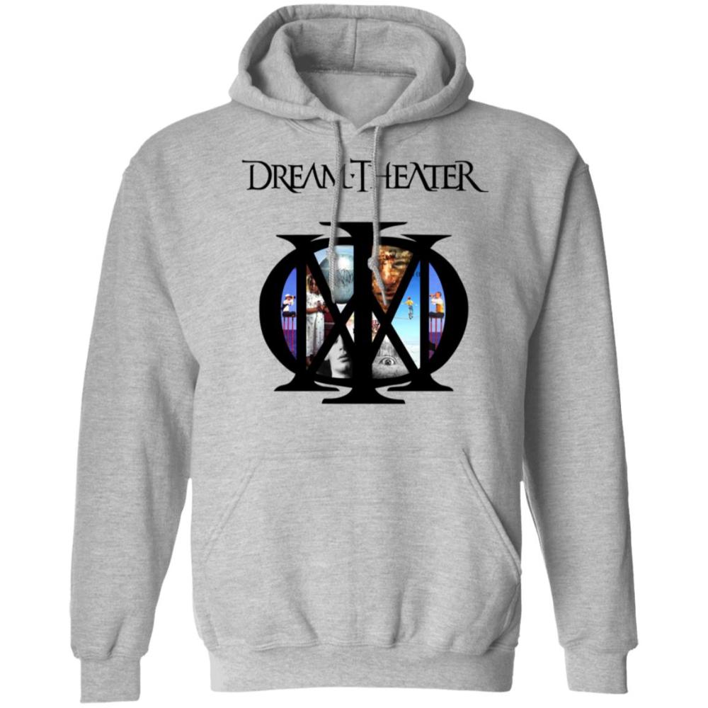 Us Rockband Dream Theater Logo Pullover Hoodie Unicornaz Fortnite Sport Trending Apparel Dream Theater Hoodies Pullover Hoodie