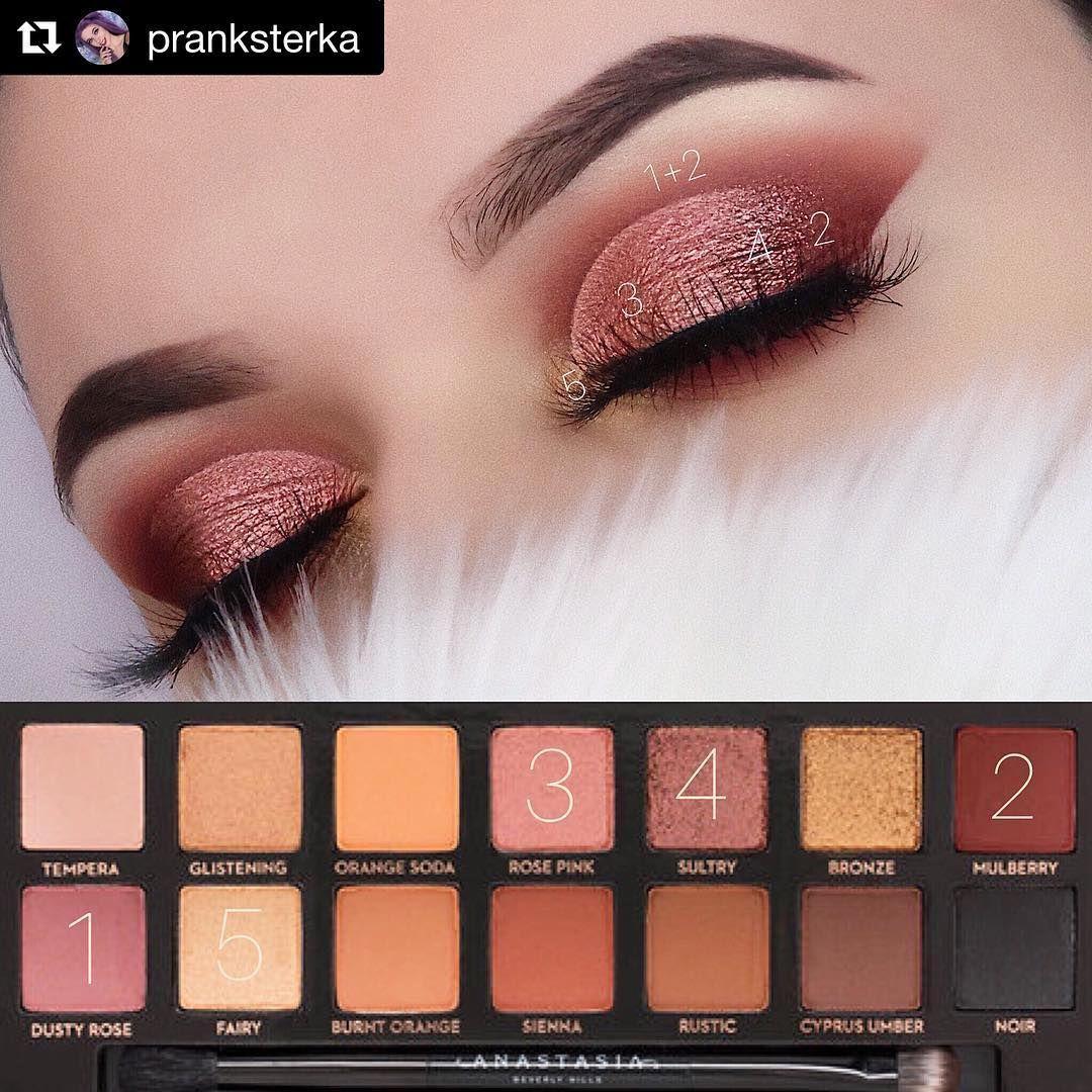 Eyeshadow Tutorials On Instagram Mua Pranksterka Palette