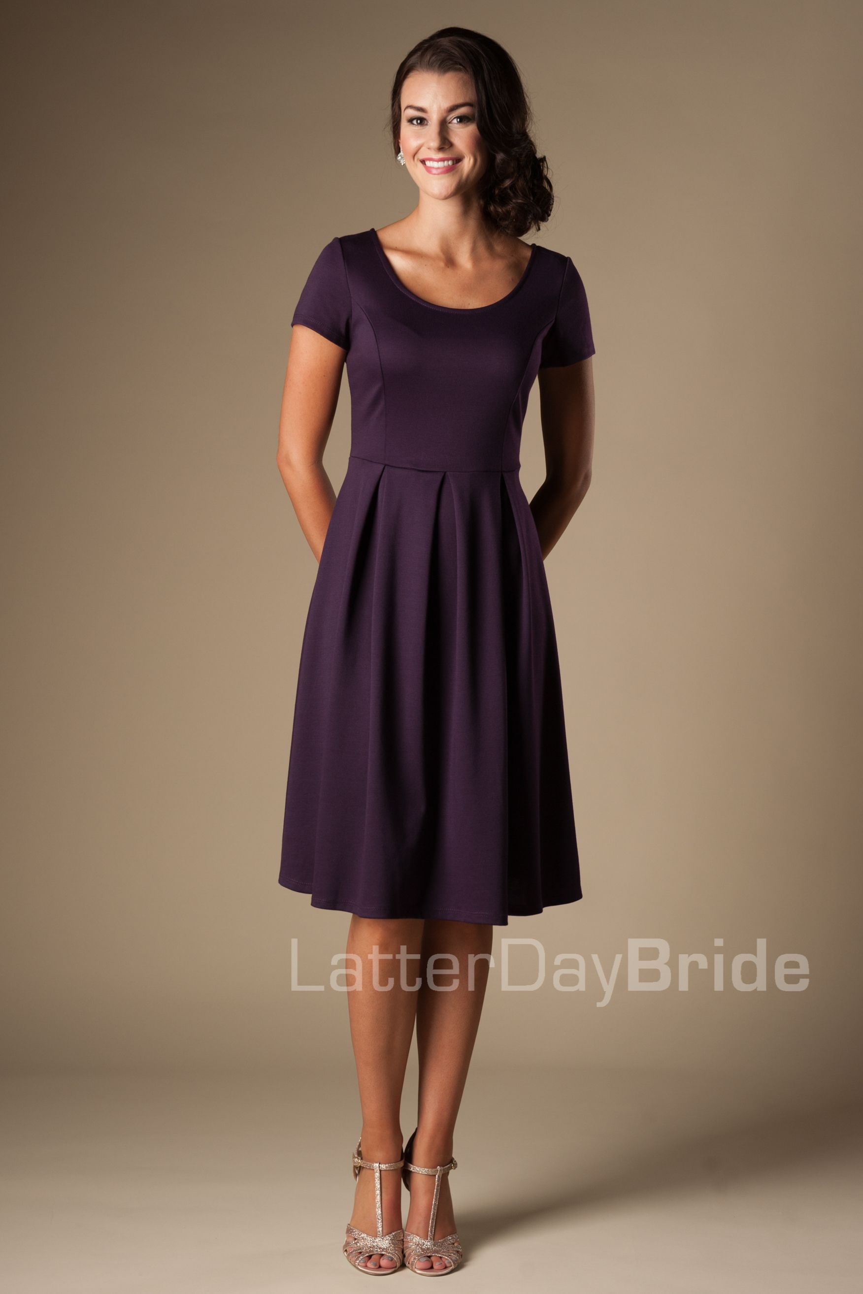 Modest bridesmaid dress mw22070 purple frontg wedding modest bridesmaid dress mw22070 purple frontg ombrellifo Gallery
