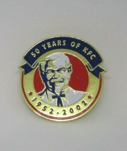 50 YEARS OF KFC PIN COLONEL SANDERS 2002 MINT   eBay   Kfc ...