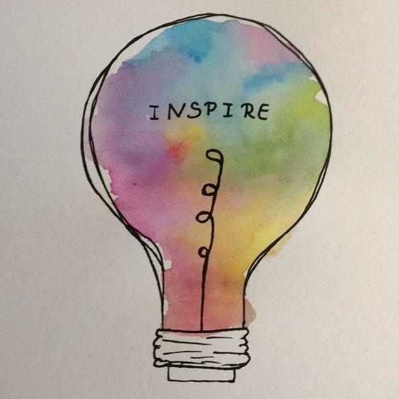 Inspire  #easywatercolorpaintings