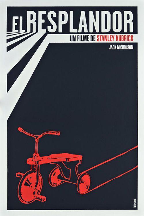 The Shining (1980). Cuban poster by Raupa.