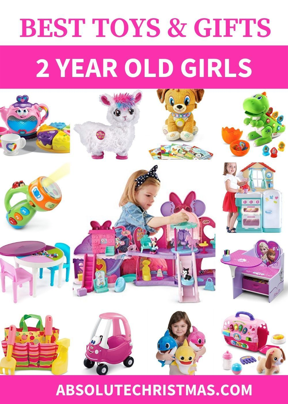 Best Toys & Gifts For 2 Year Old Girls 2020 (With images