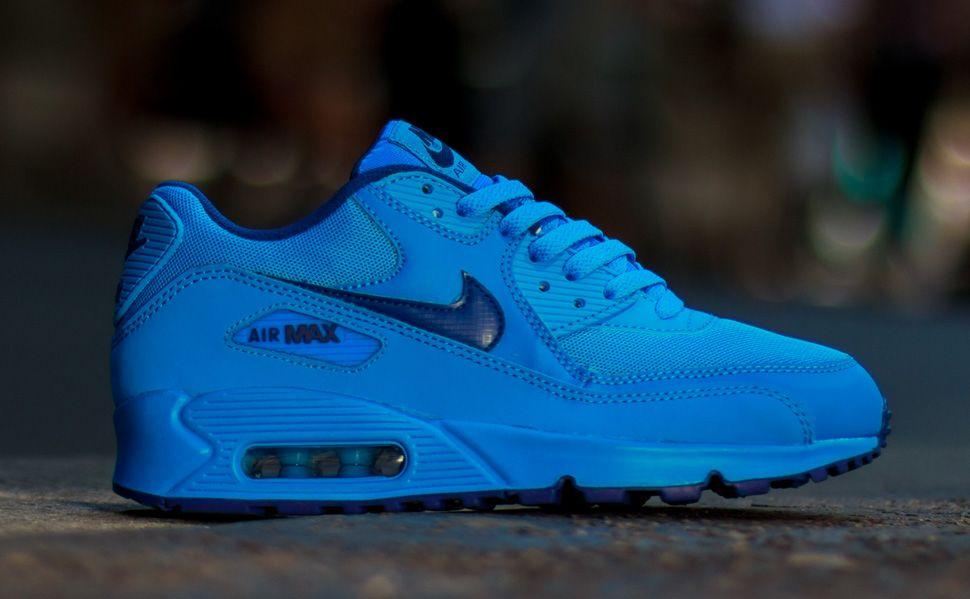 nike air max 90 gs royal blue