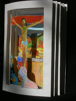 Turn A Famous Painting Into A 3 D Tunnel Book Grade 10