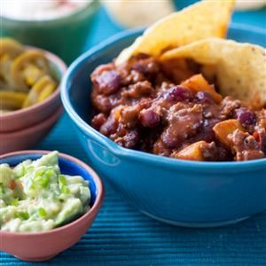 Fruit and Beef Chilli