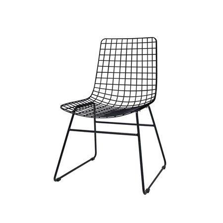 black wire chair queen anne dining room chairs scandi style in home garden cuckooland