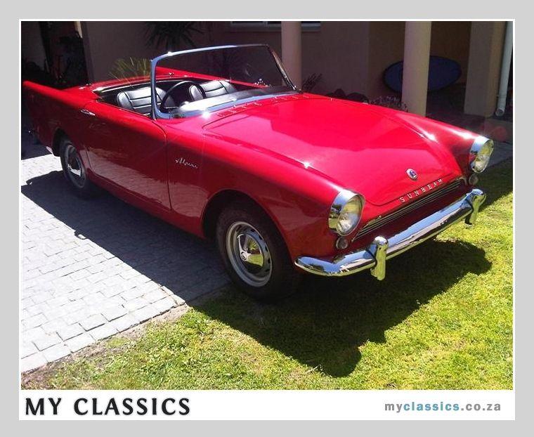 1962 sunbeam alpine series 2 classic car classic cars - Vieille voiture decapotable ...