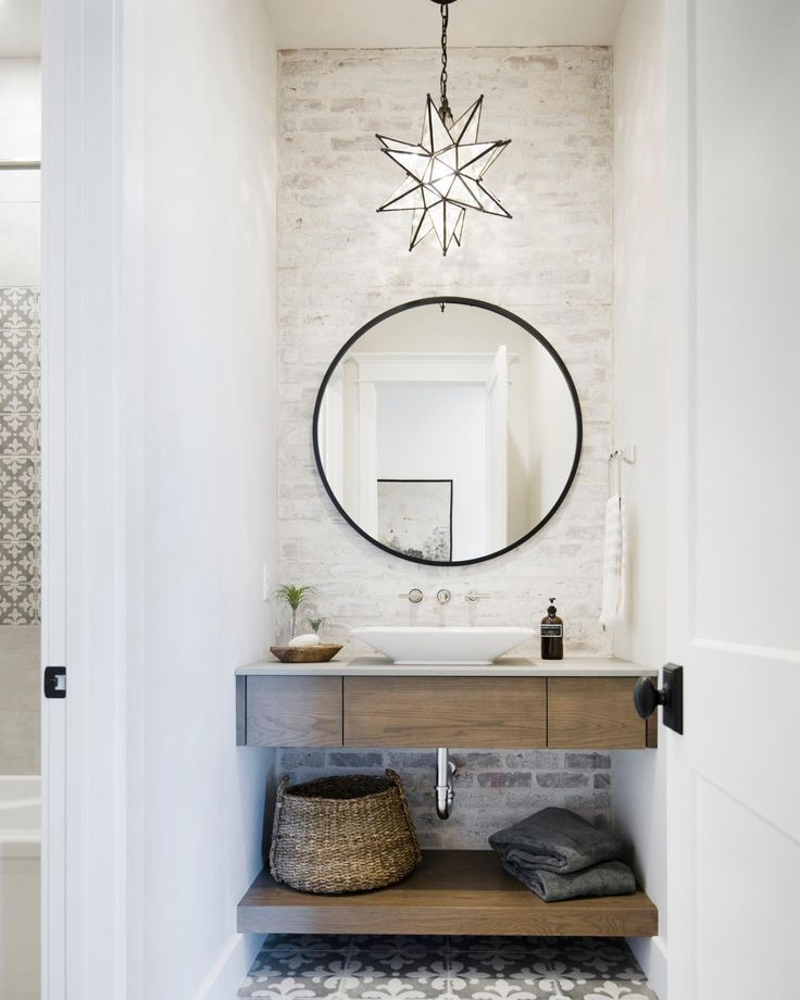 12 Illuminating Powder Room Light Fixture Ideas