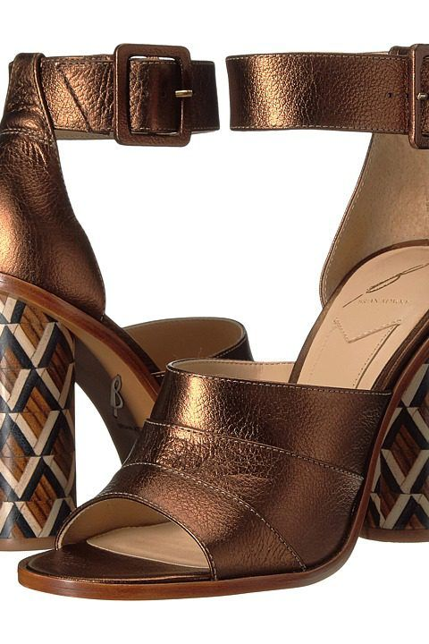 B Brian Atwood Brady (Bronze Leather) Women's Shoes - B Brian Atwood, Brady