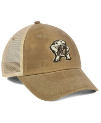 Top of the World Maryland Terrapins Mudd 2 Tone Mesh Cap - Brown Adjustable 69189d2c0e26