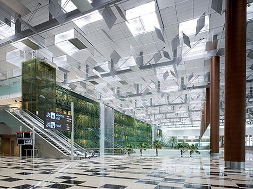 modern airport interior design singapore changi airport or simply