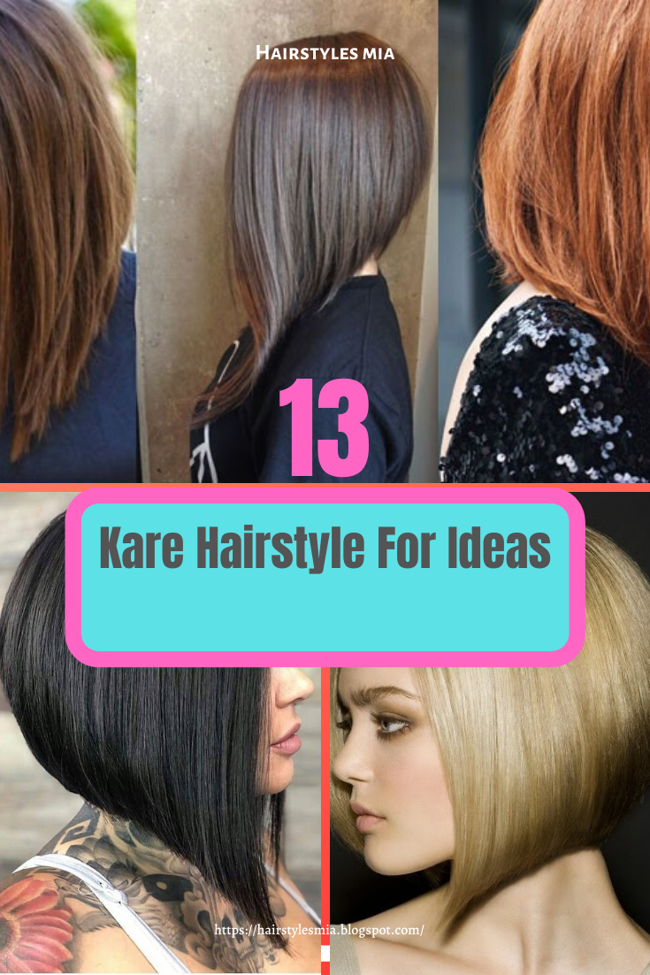 13 Kare Hairstyle For Ideas Hairstyle Hair Styles Long Hair Styles
