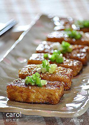 Carol 自在生活 : *照燒豆腐   Dish -- Vegetables   Tofu