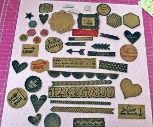 Make your own cork embellishments - Kat's Scrappy, Bloggy Life